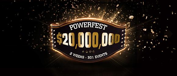 $20m Gtd Powerfest
