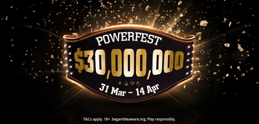 $30 million guaranteed powerfest