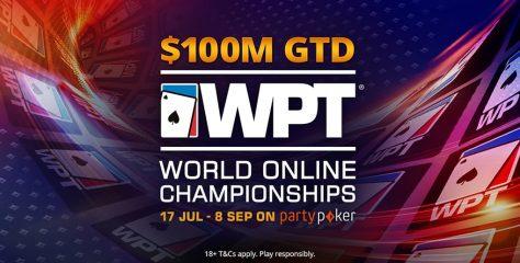 $100M WPT World Online Championship Heads to partypoker