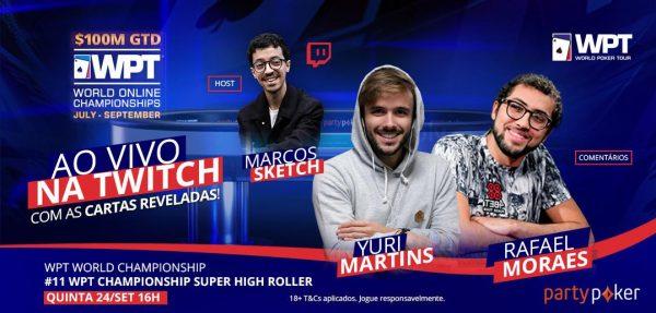 Com cartas abertas, FT do SHR Championship terá Yuri, Rafa Moraes e Sketch nos comentários