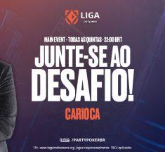 Com participação de João Simão, Carioca comanda ME da Liga nesta quinta